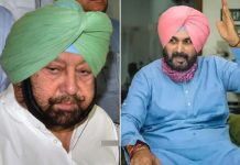 Navjot Singh Sidhu Against Amarinder Singh