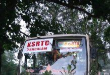 Panthalam pamaba bus